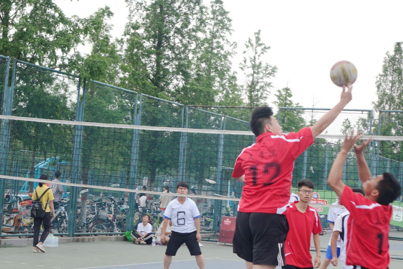 我院参加排球比赛系列报道 七